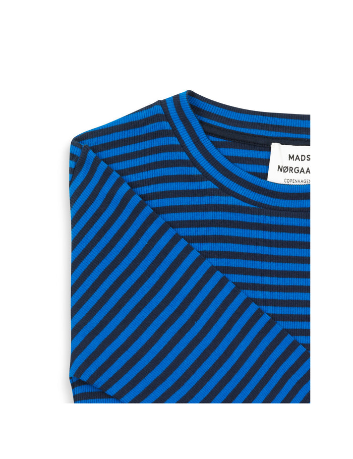 2x2 Soft Stripe Tuba, Navy/Bright Blue