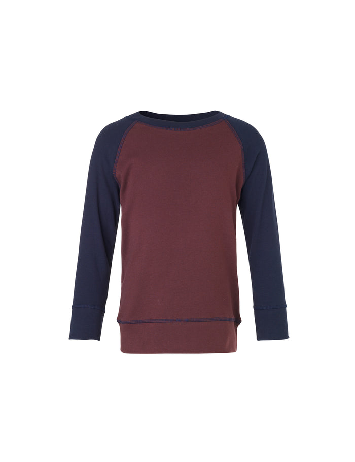 Cotton Rib Steltino Contrast, Sassafras/Navy