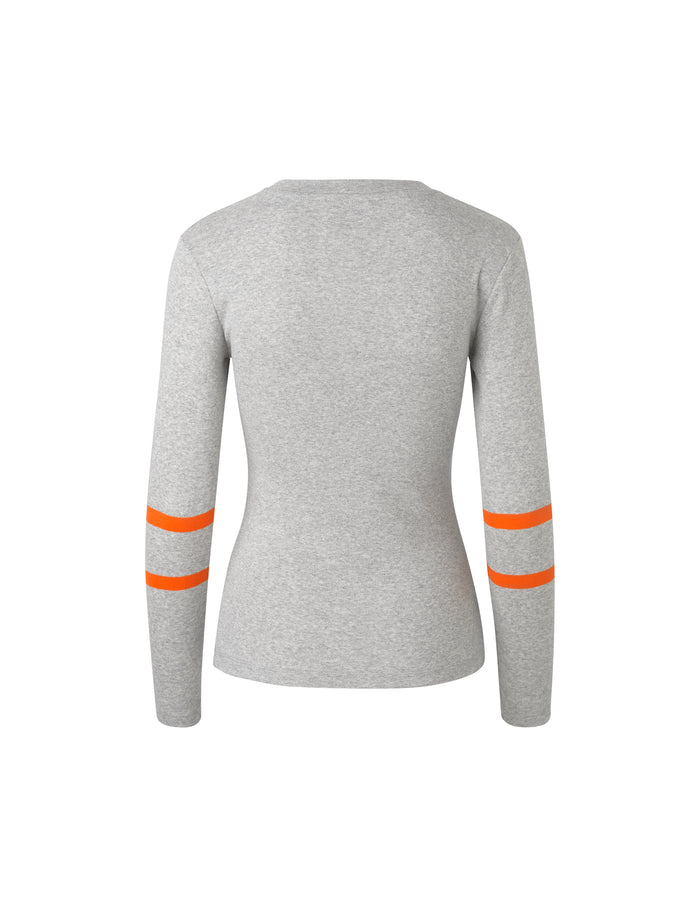1x1 Soft Sport Tuba s, Grey melange/Orange