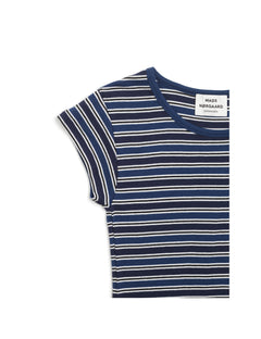 1x1 Stripe Stripe Trappy, Navy/Dark Navy