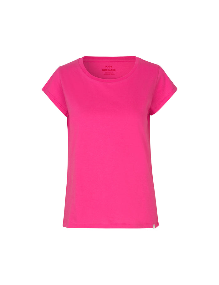 Organic Favorite Teasy Tee, Shocking Pink