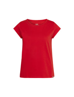 Organic Favorite Teasy Tee, Fiery Red