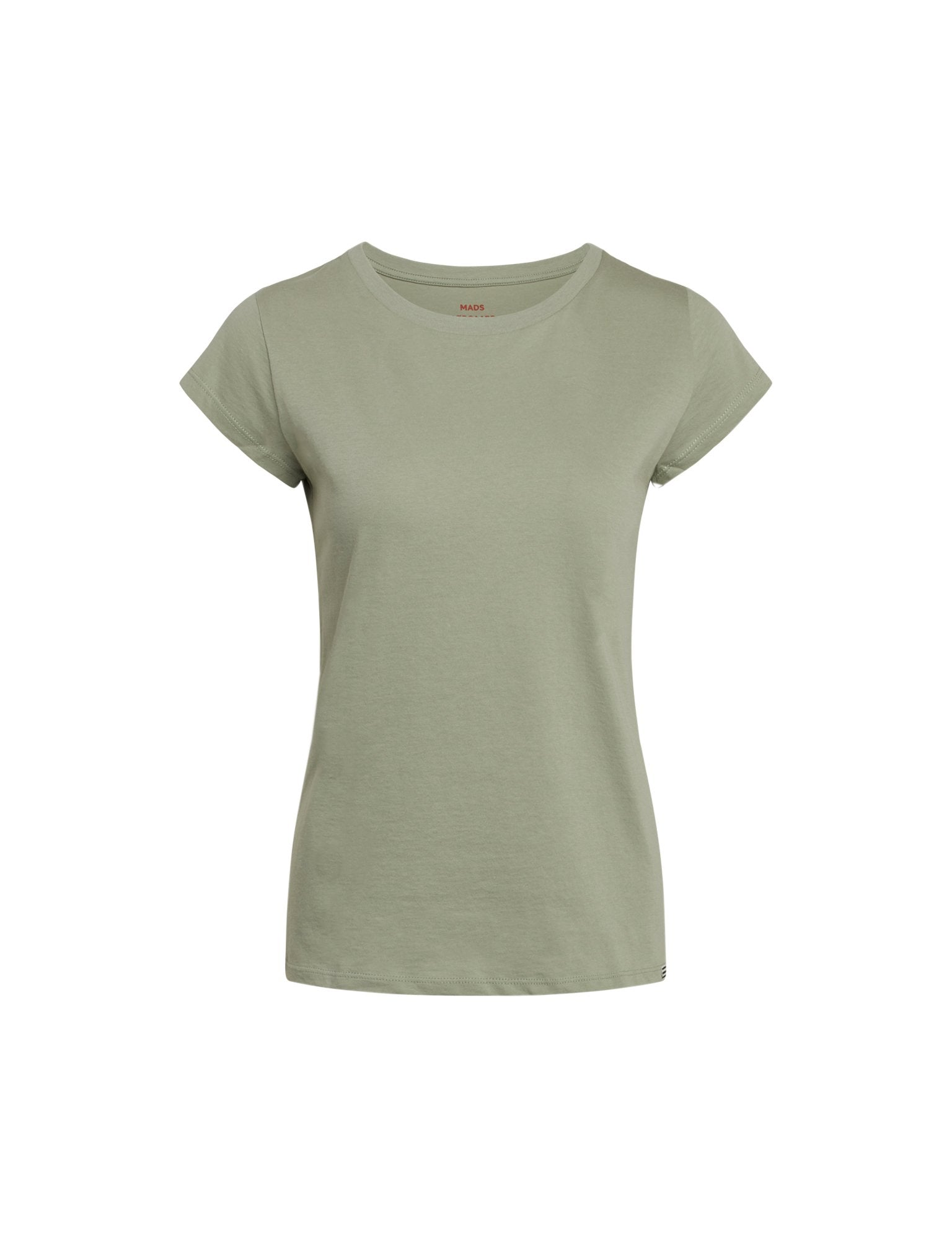 Organic Favorite Teasy Tee, Light Army