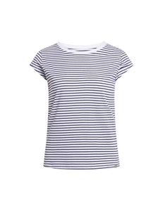 You added <b><u>Organic Favorite Stripe Teasy, White/Navy</u></b> to your cart.