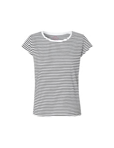 You added <b><u>Organic Favorite Stripe Teasy, White/Black</u></b> to your cart.
