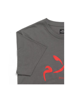 Printed Tee Thor Peace, Granite Gray
