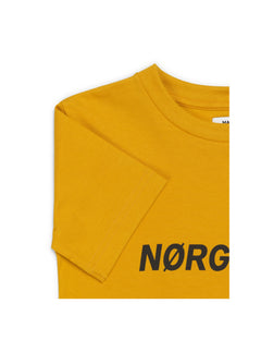 Printed Tee Thorlino, Golden Yellow