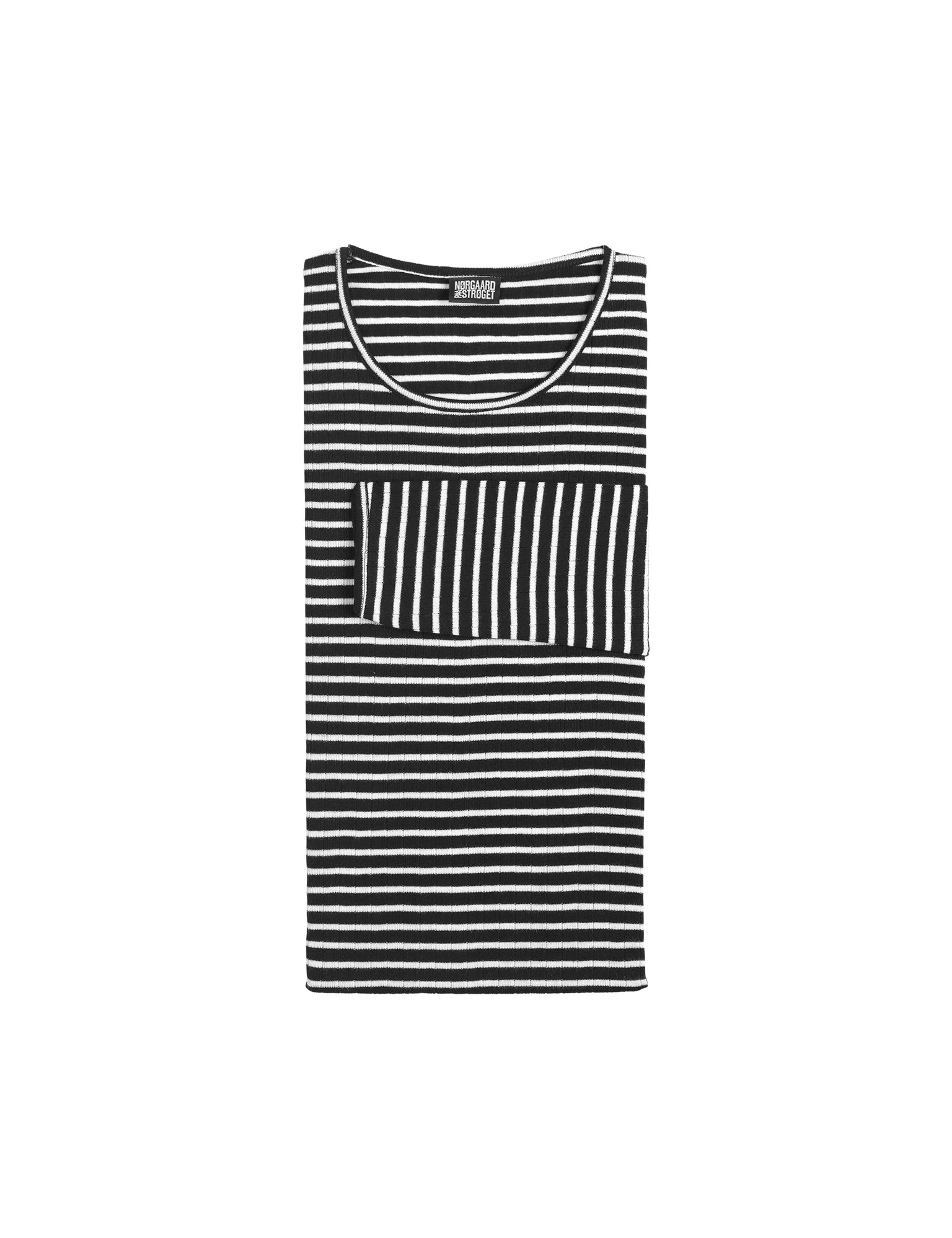 101 NPS Stripes, Black/Ecru