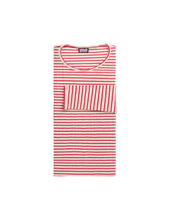 101 NPS Stripes, Ecru/Red