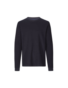 Wool Jersey Twin LS, Sky Captain