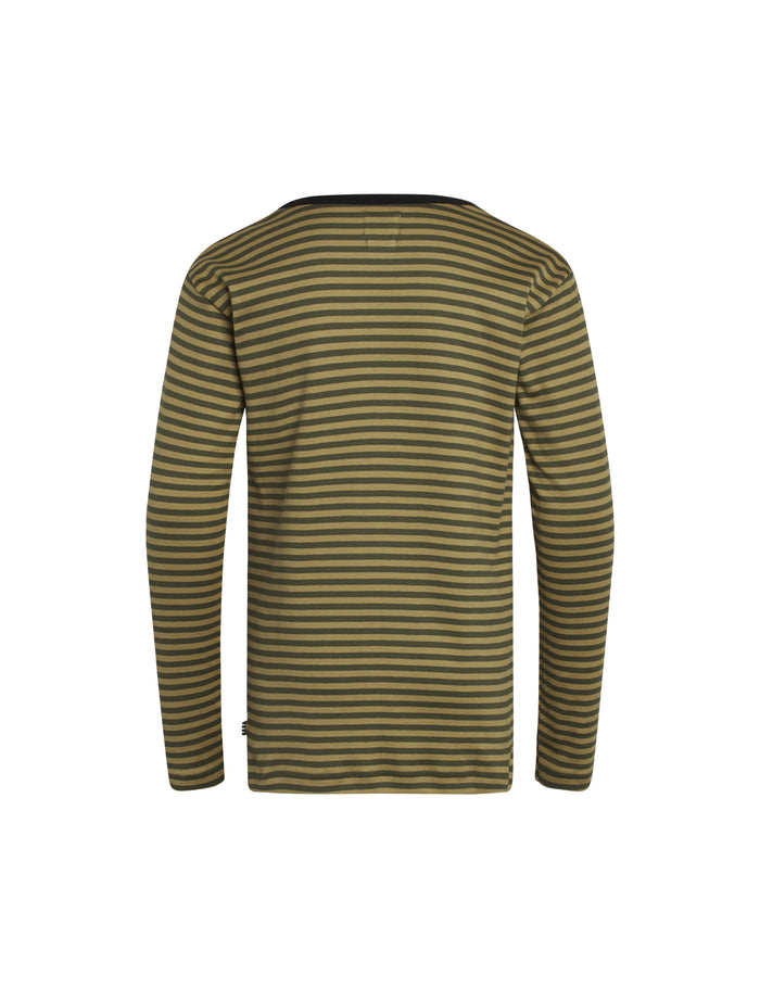 Duo Rib Tobino Long, Burnished Gold/Olive Night