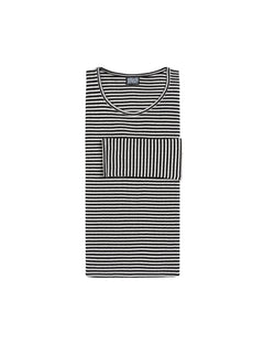 101 Fine Stripe, Black/Off White