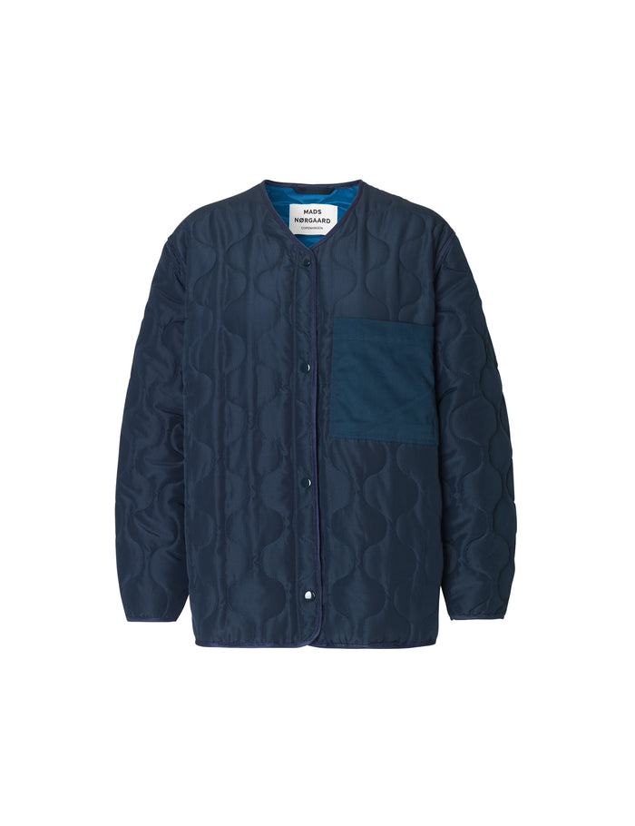 Ripstop Quilt Colina, Navy
