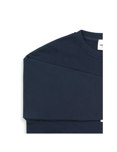 Organic sweat Tilvina mega p, Navy