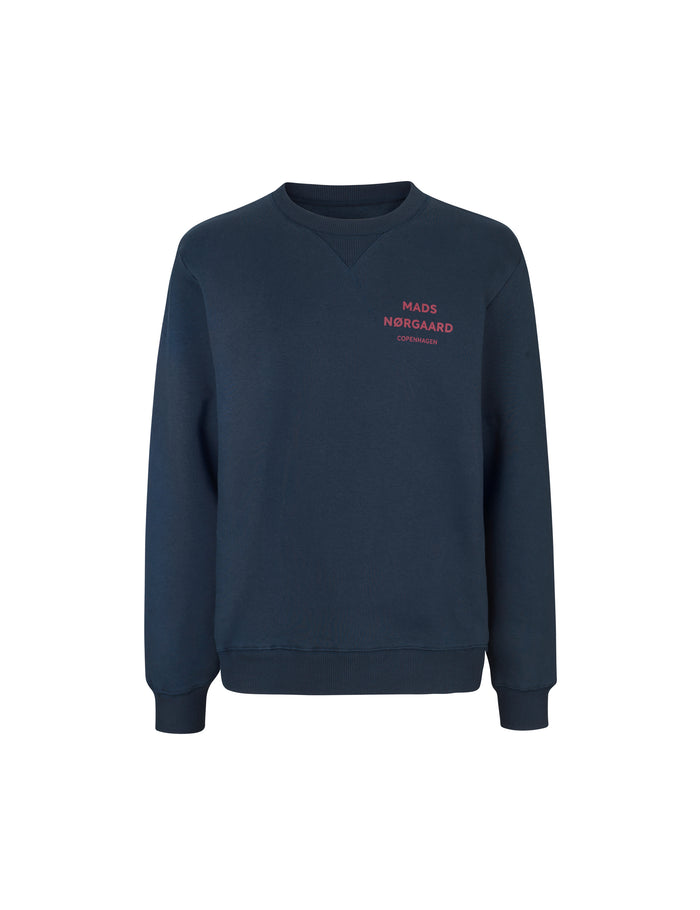 Logo Sweat Crewneck, Sky Captain