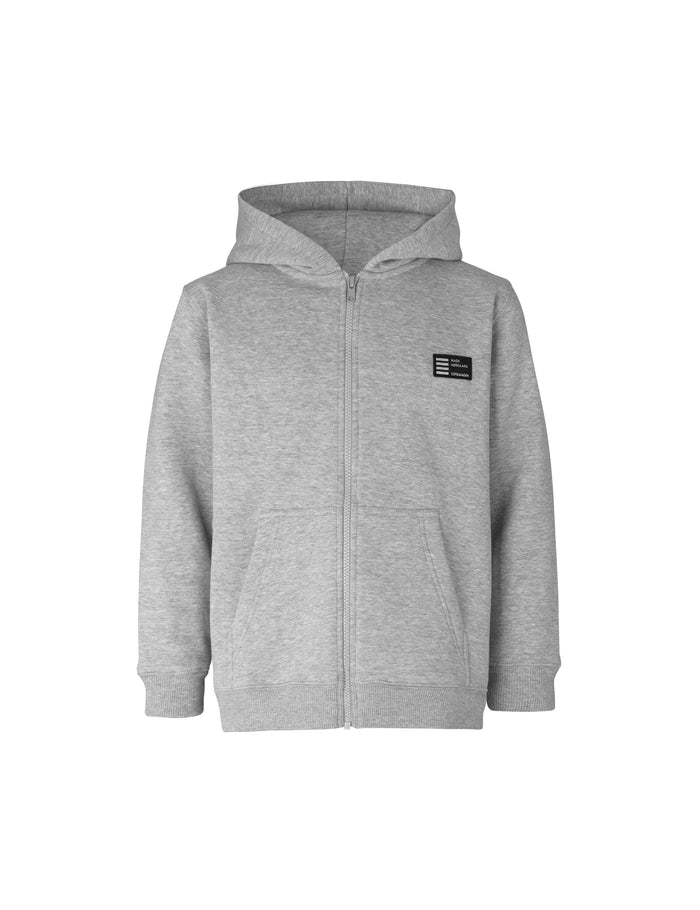 New Standard Hudini Zip, Grey Melange