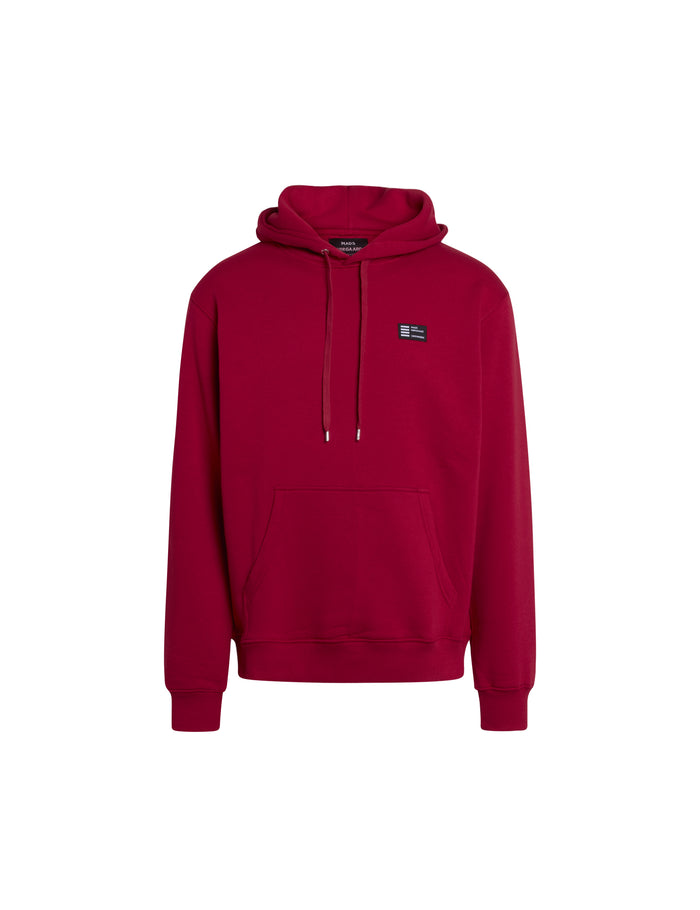New Standard Hoodie Badge, Rio Red