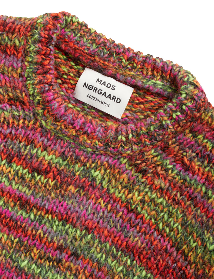 Tempo Wool Kollina, Multi Neon Orange