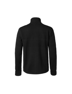 100% Wool Klemens Zip, Black