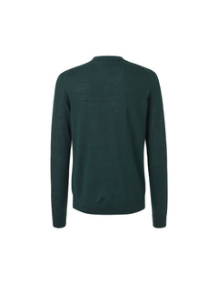 Fine Italian Knit Kerni, Rifle Green