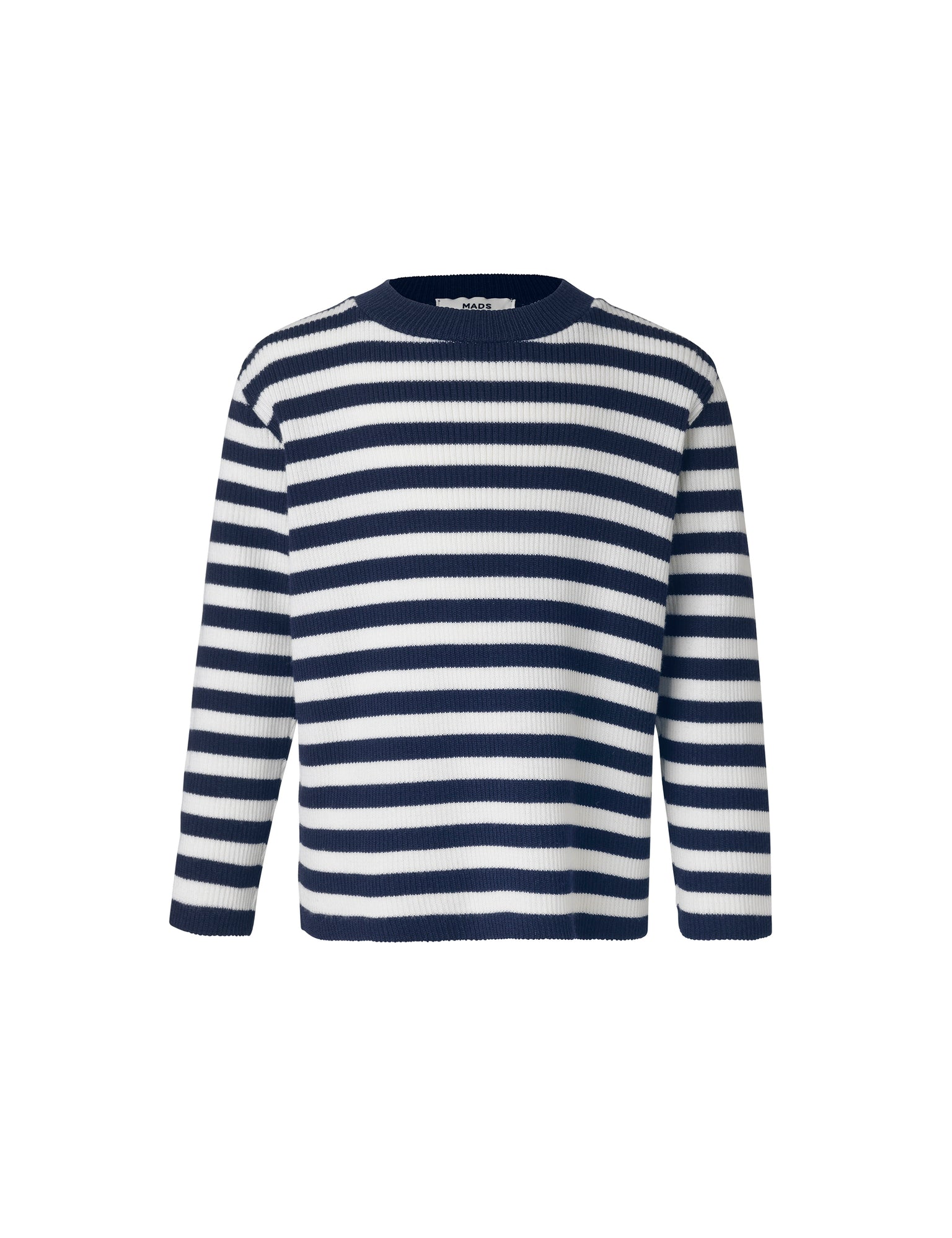 Wool Tender Kaptina, Navy/Ecru