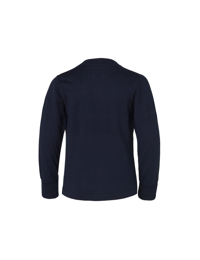 Sailor Cotton Klembino Zip 171, Navy