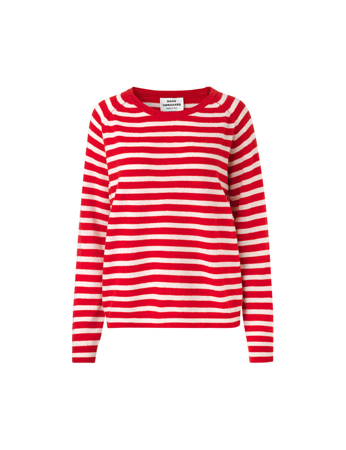 Cosy Stripe Kaxa Stripe, Red/Ecru