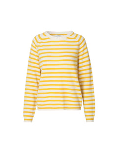 Cosy Stripe Kaxa Stripe, Ecru/Yellow