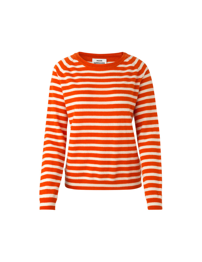 Cosy Stripe Kaxa Stripe, Orange/Ecru/contrast
