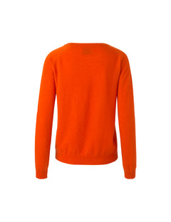 Cosy wool Kaxa, Orange/contrast