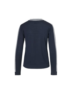 Merino Boutique Karvalla str, Navy/White