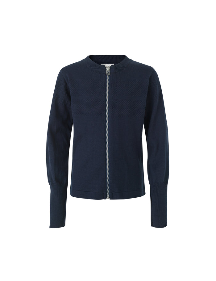 Sailor Cotton Klembino Zip, Navy