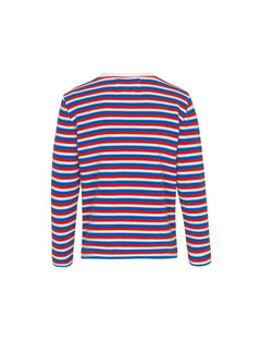 Cotton Wool Kaptina, Ecru/Red/Blue
