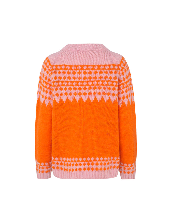Iceland Kanona, Orange/Pink