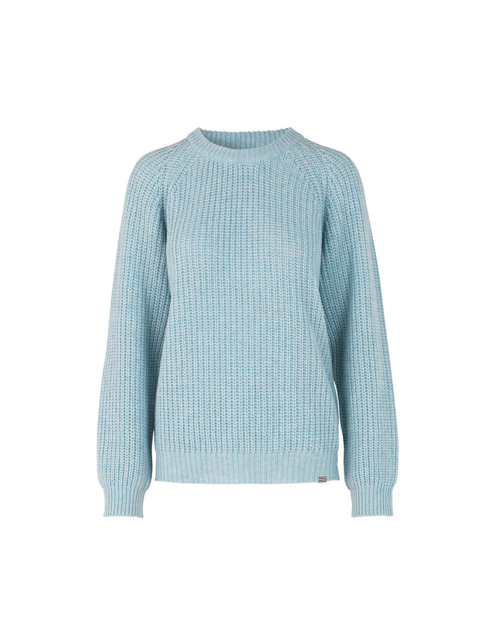 Recycled Favorite Wool Ketty, Light Blue Melange