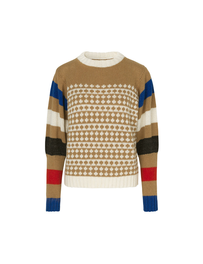Recycled Iceland Konny, Beige/Multi