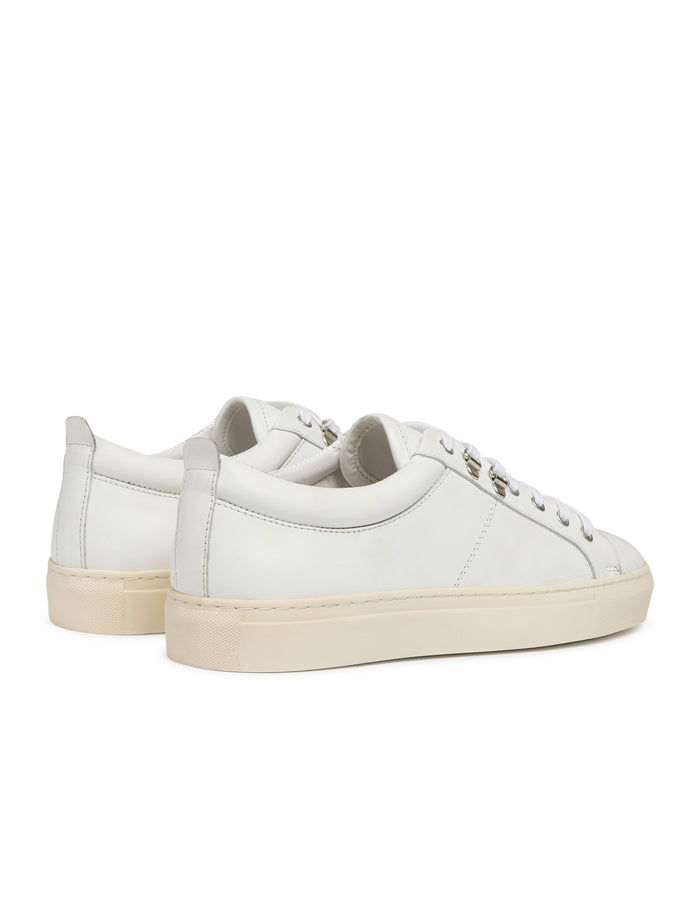 Leather Sneak Madson, White