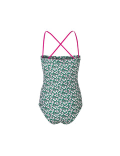 Vita Swimma, Green Printed
