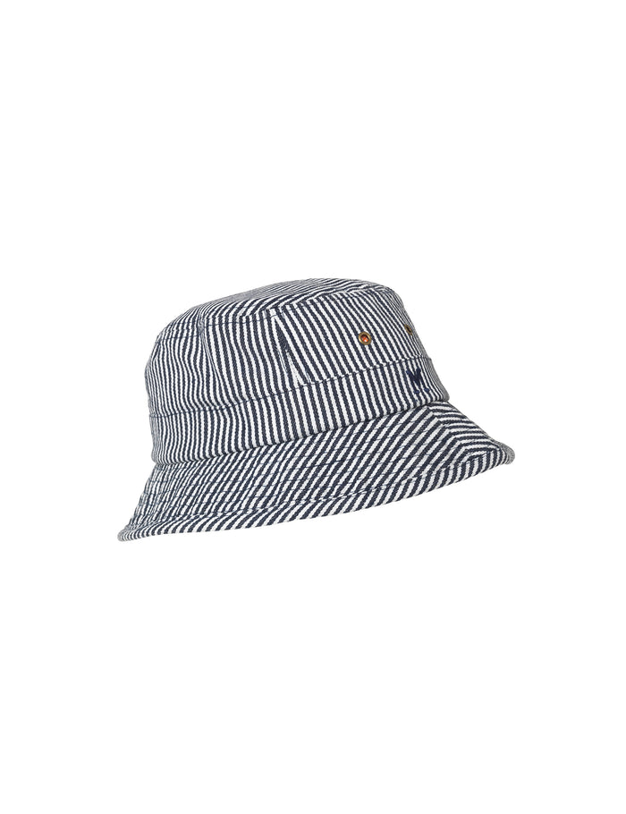 Summer Stripe Bølle Kids, Navy/White