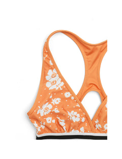 Sports Swim Beddie, Orange/White