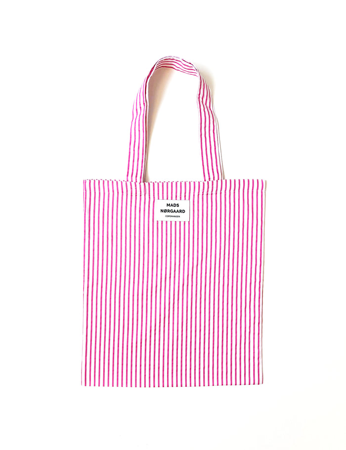 Soft Stripe Atoma, Pink/White