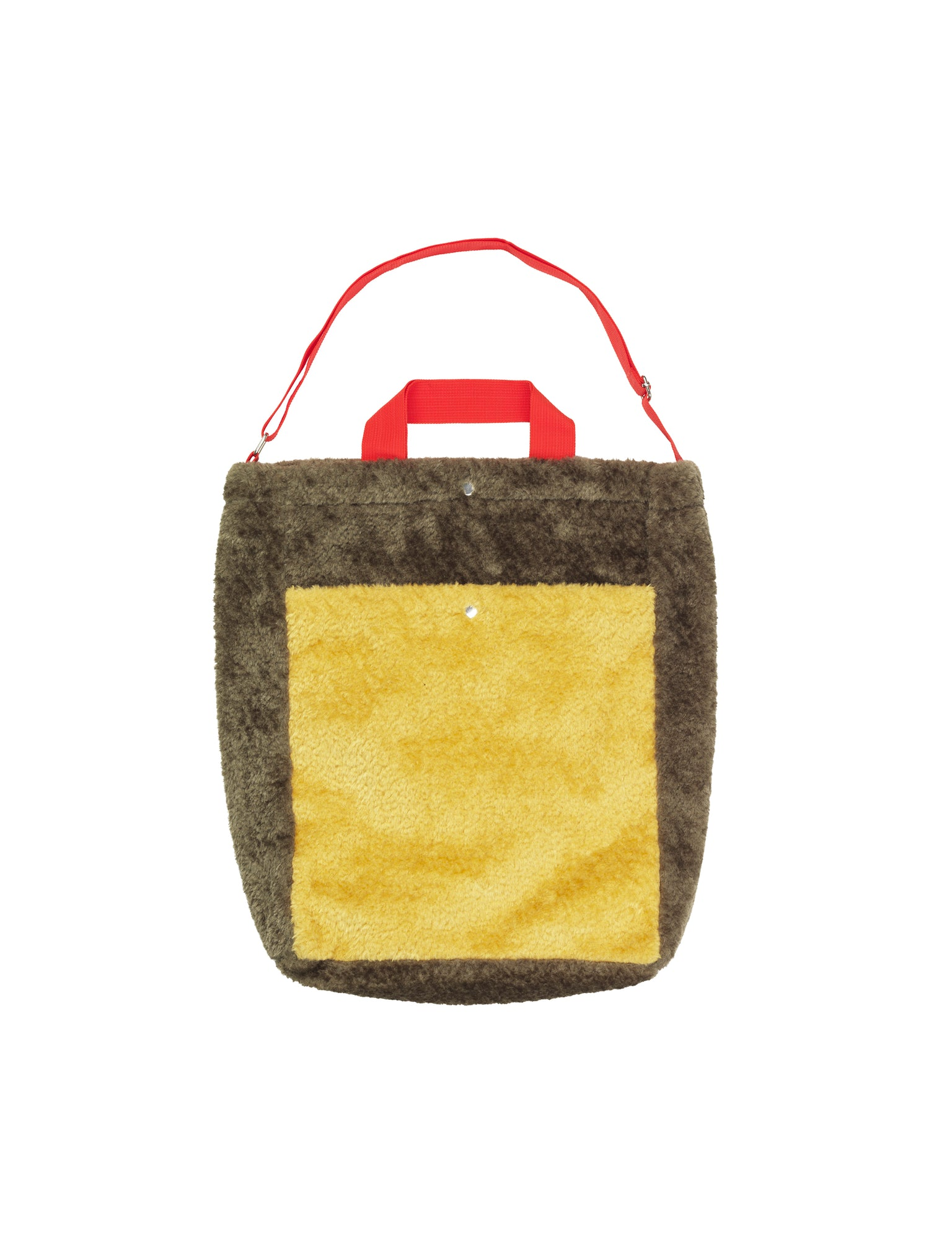 Töte Bag G, Army/Yellow/Red