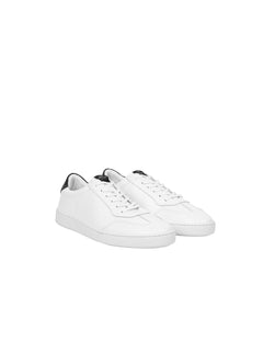 Leather Troy, White/White