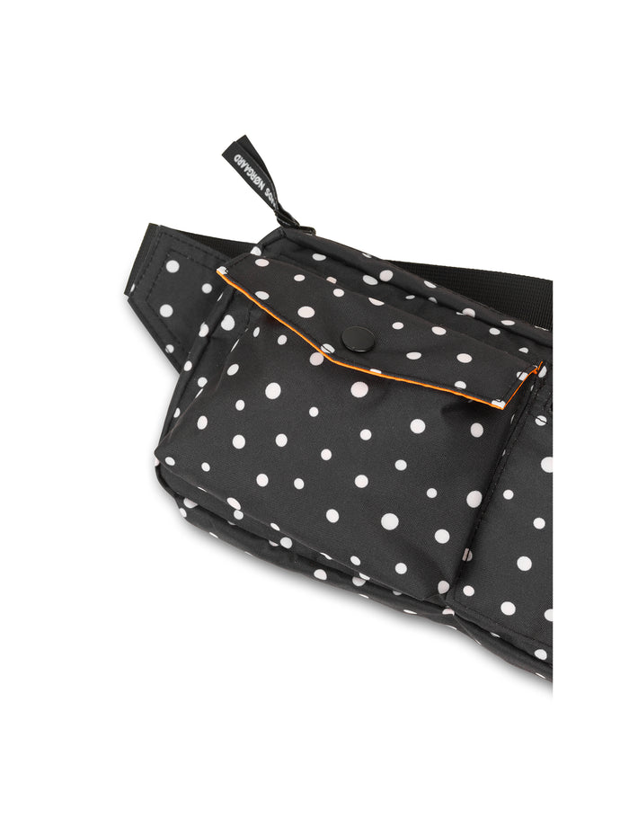 Recycled Bel Air Carni Dot, Black/Off White Dot
