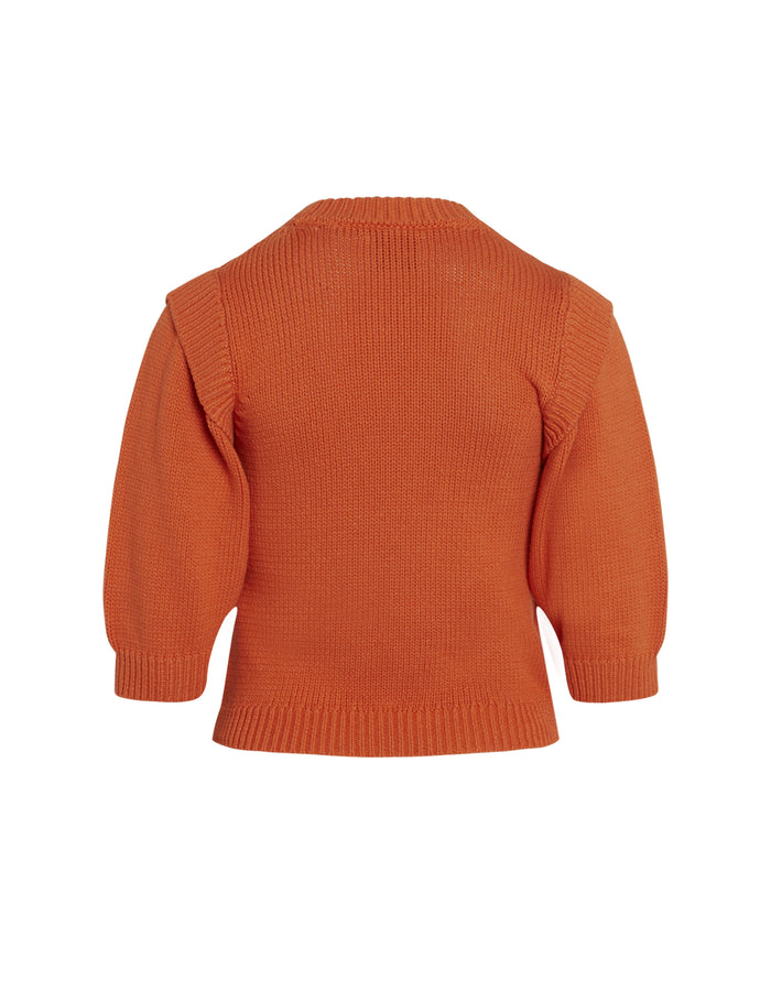 Chunky Cotton Kaitlyn, Bright Orange