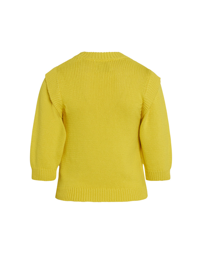 Chunky Cotton Kaitlyn, Bright Yellow
