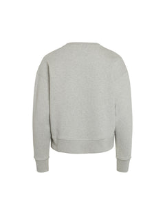 Organic Sweat Tilvina P, Light Grey Melange