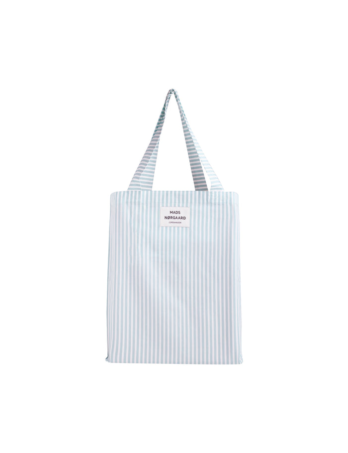 Sacky Atoma Bag, White Alyssum/Aqua