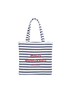 Recycled Print Boutique Athene, Off White/Navy