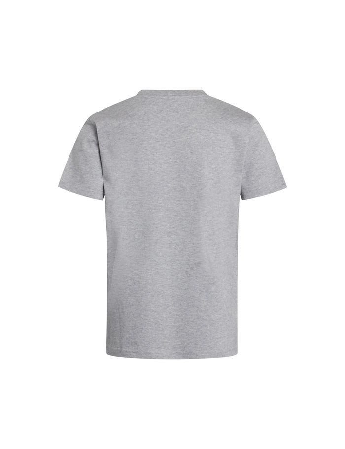 Printed Tee Thorlino, Grey Melange